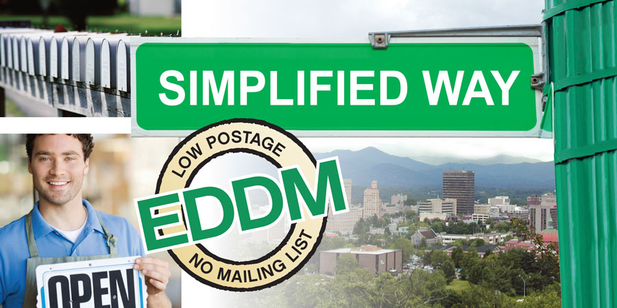 EVery Door Direct Mail Simplified