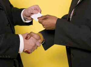 Why Your Business Card is Like a Handshake