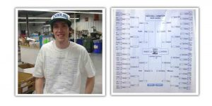 Wear your NCAA bracket picks on a DTG printed tshirt