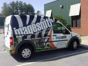 Vinyl vehicle wraps from ImageSmith