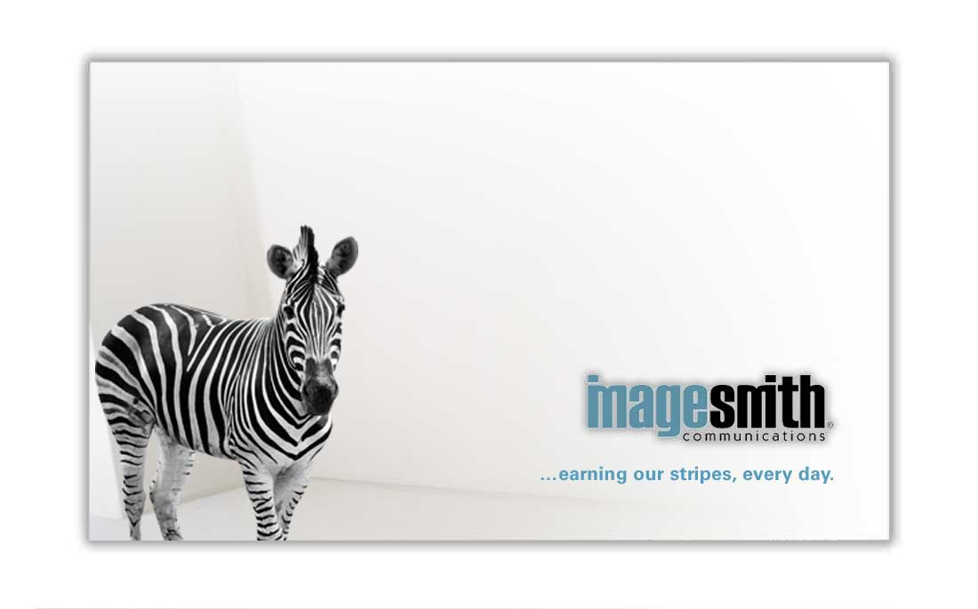 Evolution of ImageSmith brand and logo