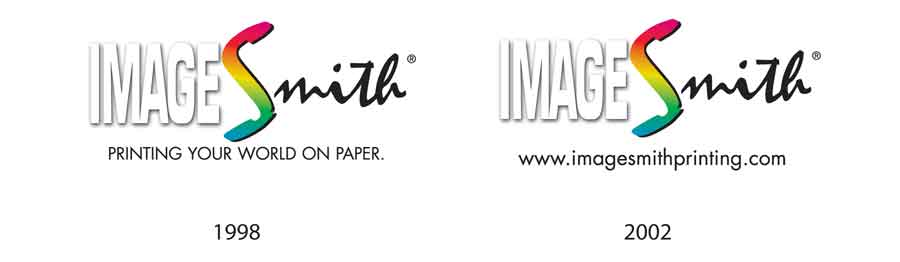 ImageSmith logo evolution