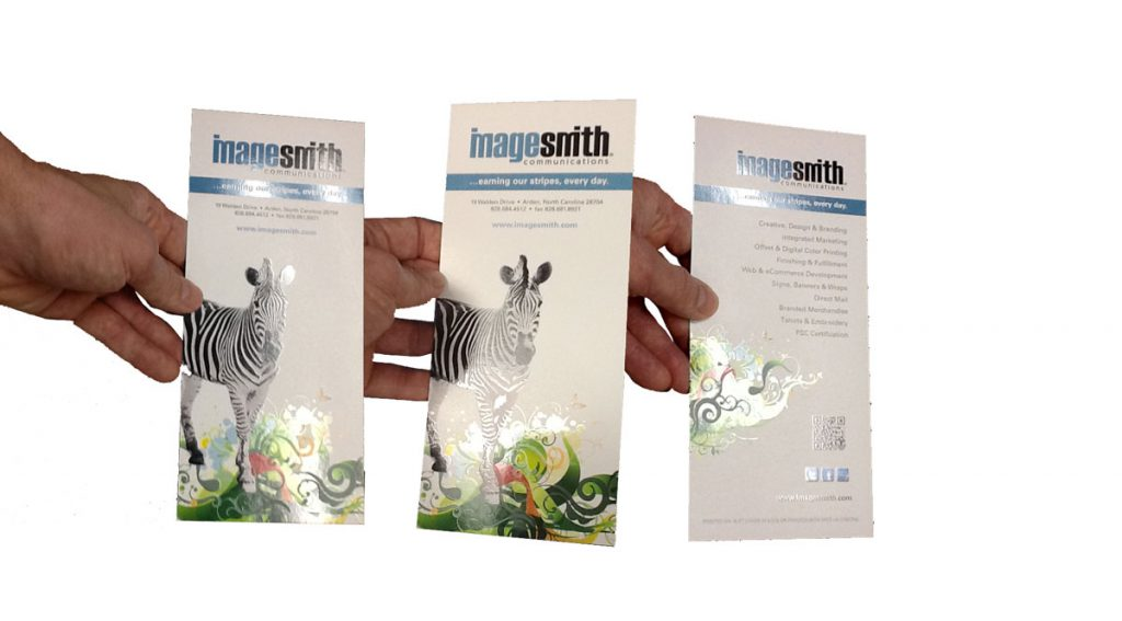 spot UV coating adds gloss to print
