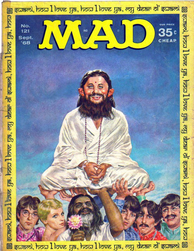 1968 cover of MAD magazine