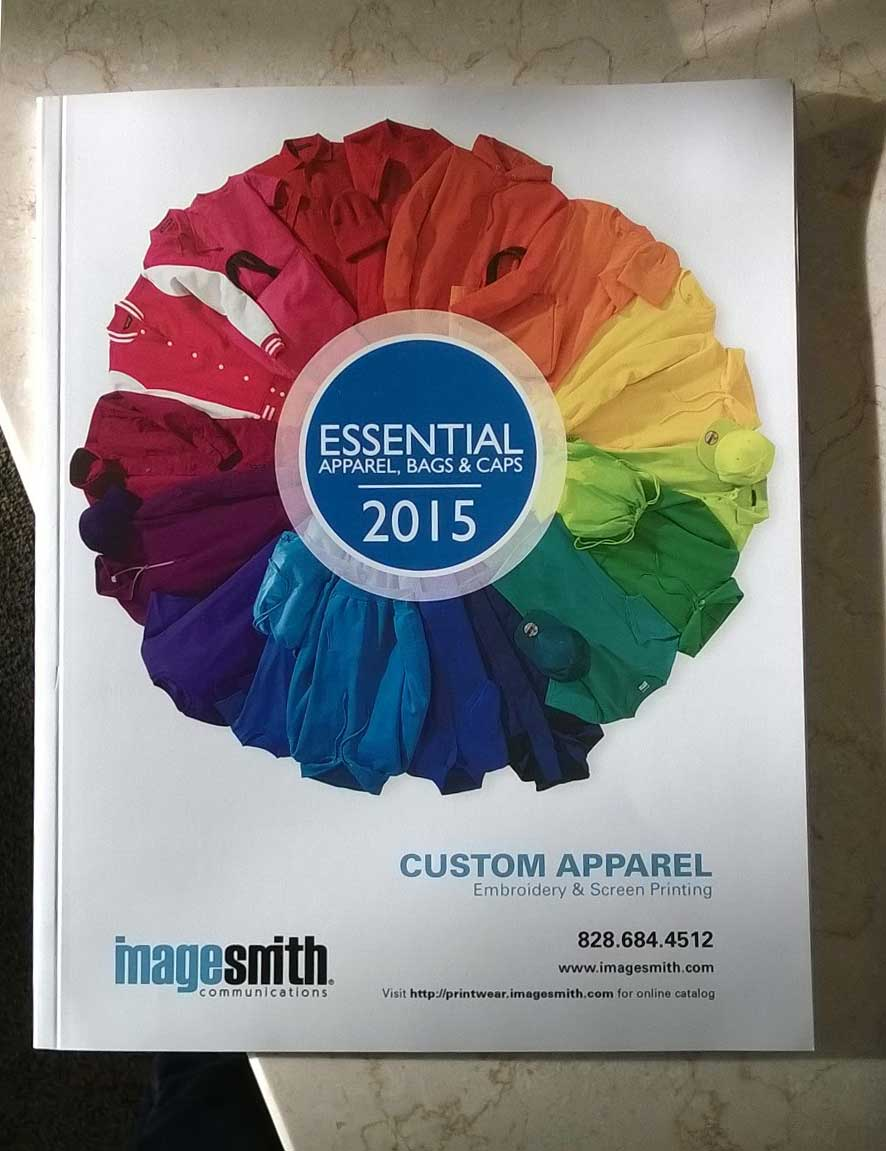 Print Catalog of ImageSmith Branded Apparel
