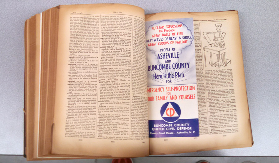 Civil Defense brochure found in Dictionary