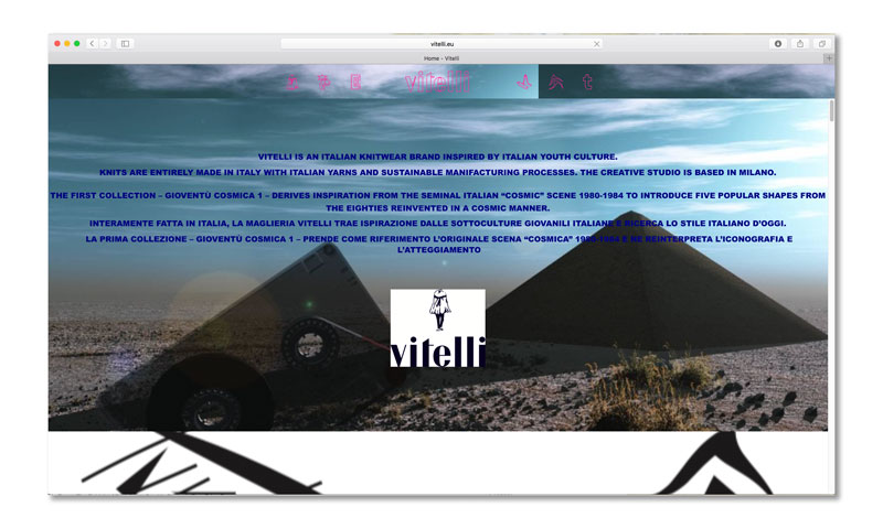 Vitelli website
