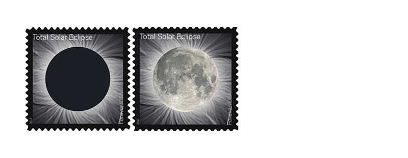 Total Eclipse of the Sun Forever Stamps