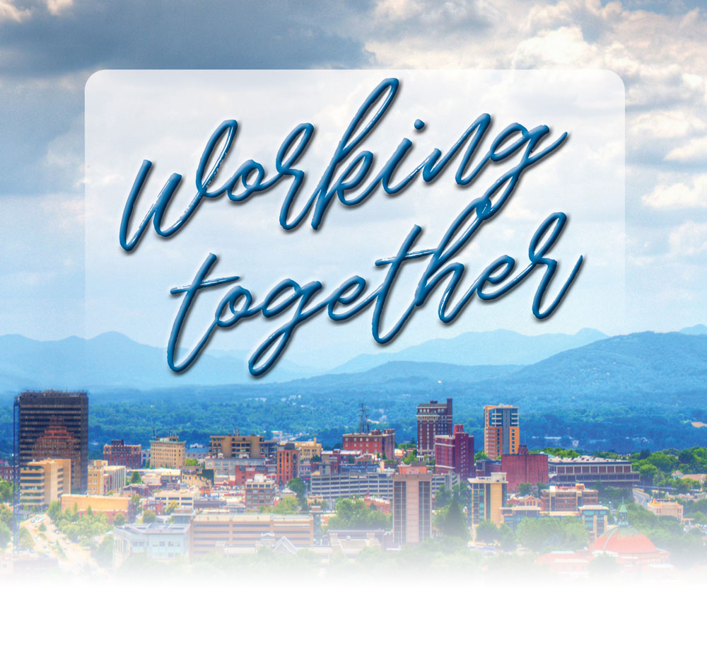 Asheville Skyline Working Together to face COVID-19